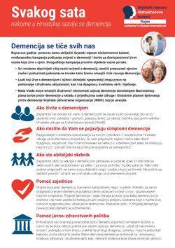 Letak u povodu Svjetskog dana Alzheimerove bolesti 2018.