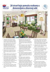 Kako urediti dnevnu sobu za osobu koja živi s demencijom